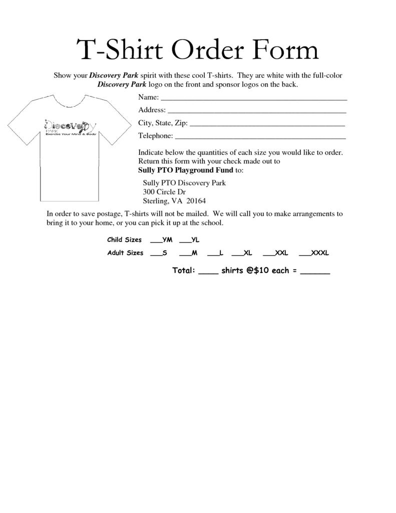 2 Part Work order forms Lovely 35 Awesome T Shirt order form Template Free Images