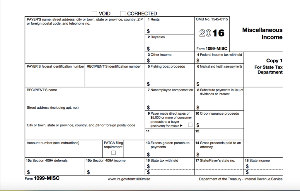 2017 Instructions for form 1099 Misc Fresh 1099 Misc Tax form Diy Guide