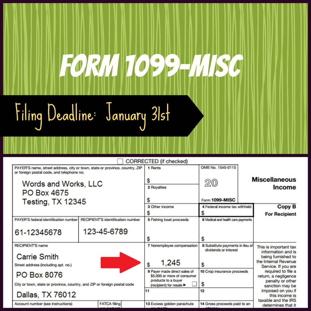 2017 Instructions for form 1099 Misc Lovely Resources