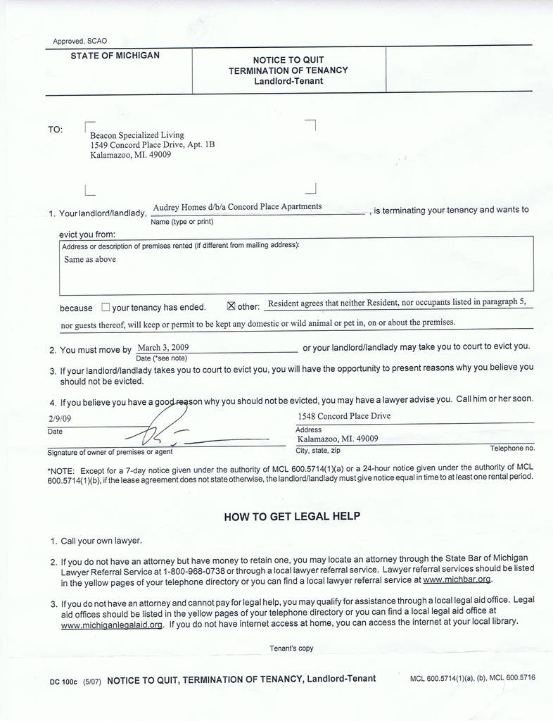 72 Hour Eviction Notice oregon form Fresh Free Eviction Notice form Template