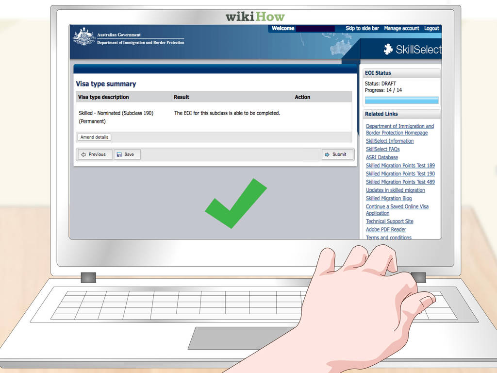 Australian Electronic Travel Authority Eta Application form Beautiful 4 Ways to Get An Australian Visa Wikihow