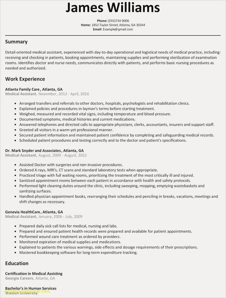 Waitress Resume Example Inspirational Free Resume Examples Elegant Resum 3f Example 0d We Already Knew