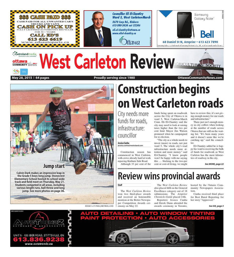 Auto Airbag Settlement Claim form Inspirational Westcarleton by Metroland East West Carleton Review issuu