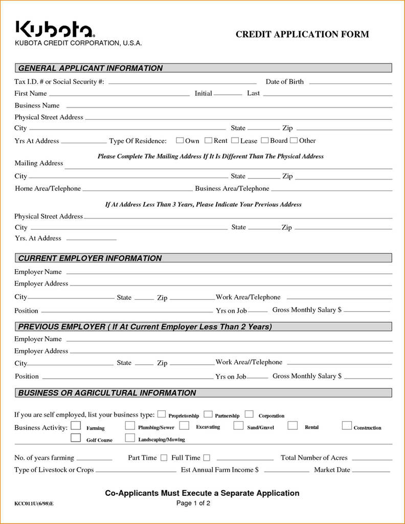 fresh business loan application form pdf models form ideas