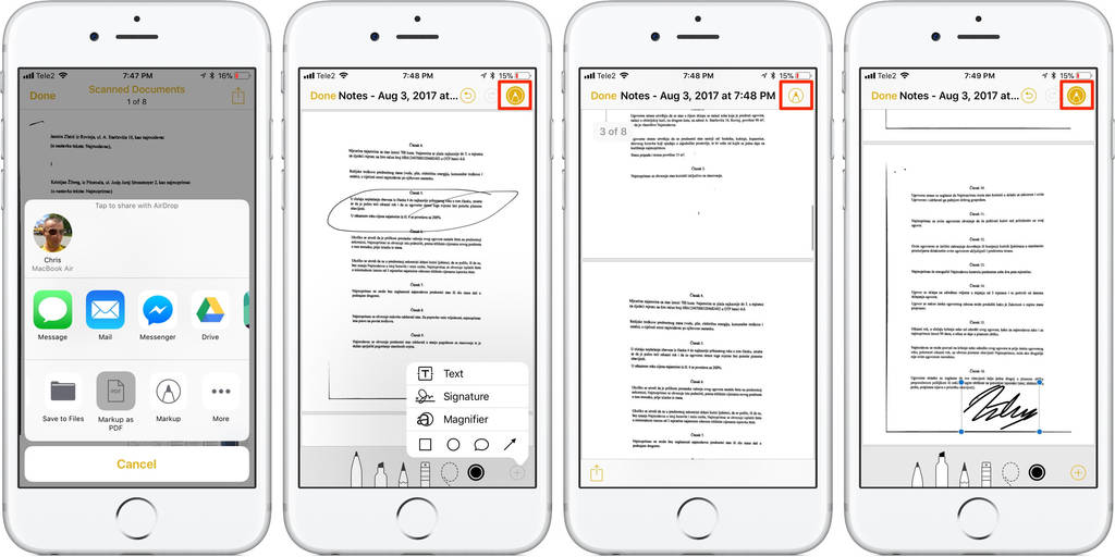 Create Fillable Pdf forms On Ipad Awesome How to Scan Documents In Ios 11 Notes App