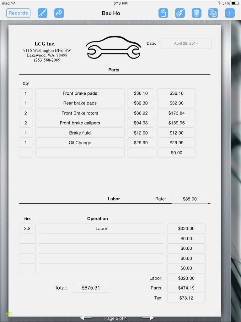 Create Fillable Pdf forms On Ipad Lovely 12 Fresh Invoice Template for Ipad