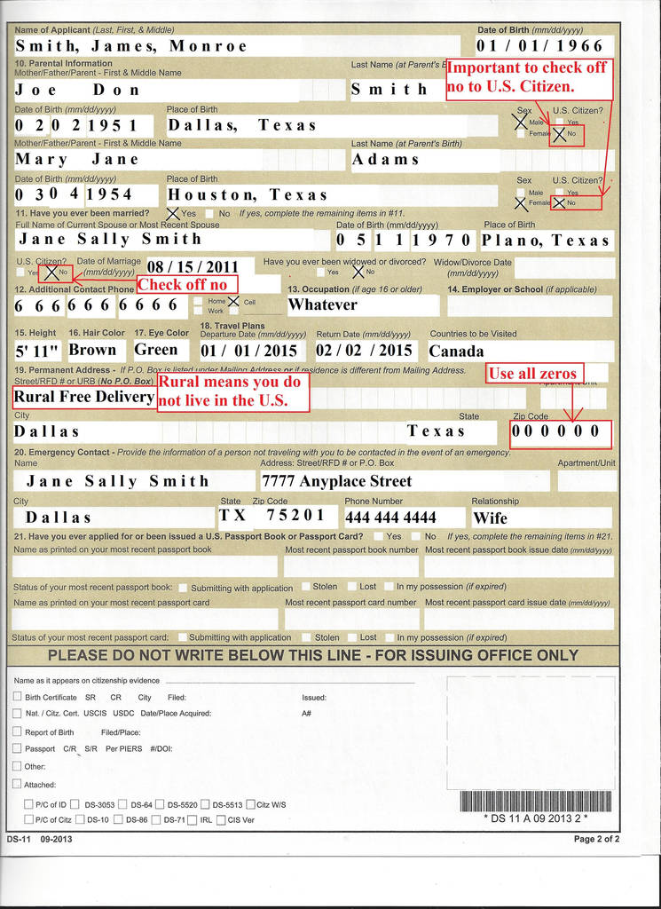Ds 82 Printable Form Awesome 11 For Passport