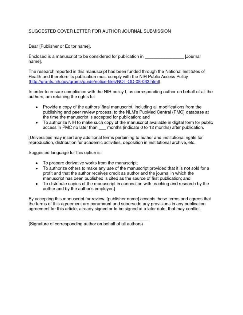 Electronic Communication Consent form Beautiful Cover Letter for Article Selo L Ink