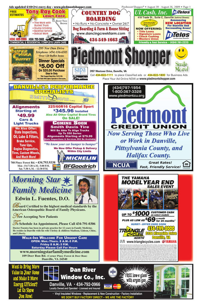 Form 508 Nc Dmv Best Of Piedmont Shopper 8 20 09 by Alan Lingerfelt issuu