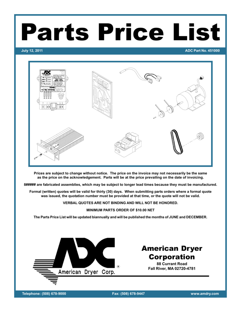 Form 508 Nc Dmv Brilliant Parts Price List