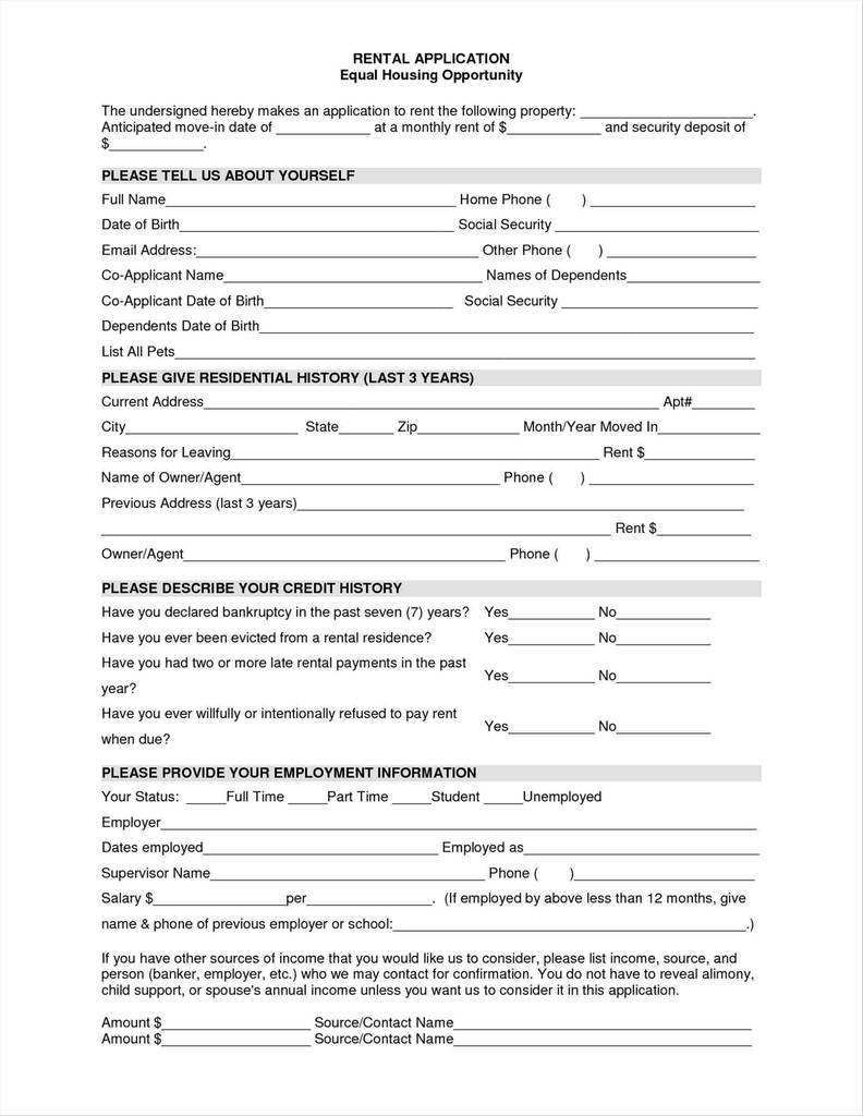 Free Indiana Residential Lease Agreement form Inspirational House Rental Application Akbaeenw