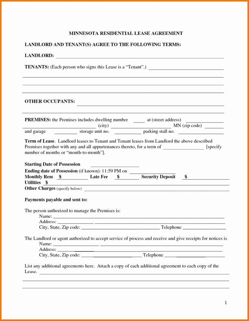 Free Indiana Residential Lease Agreement form Lovely 50 Unique Free Printable Residential Lease Agreement form