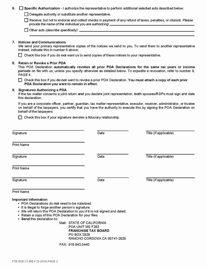 Georgia Power Of Attorney Form 2017 Awesome General Power Attorney