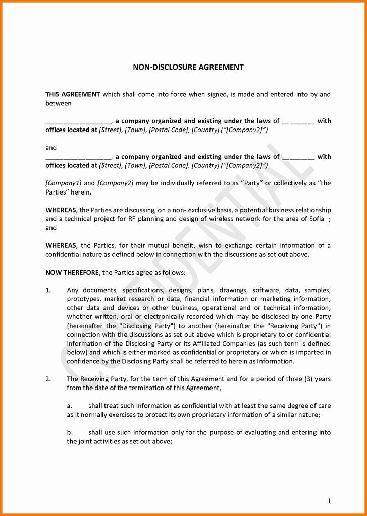 Group therapy Confidentiality Agreement form Best Of Nda Template for App Development Vatozozdevelopment