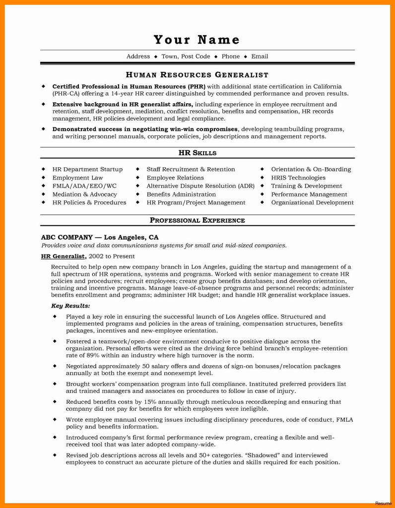 Html Web form Example Best Of Sample Prehensive Resume Beautiful Elegant Sample College