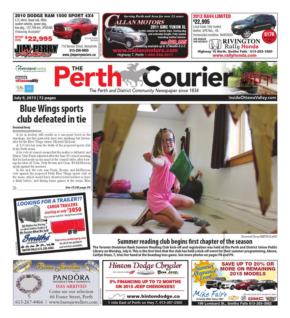 Lift A Thon Fundraiser forms Elegant Perth by Metroland East the Perth Courier issuu