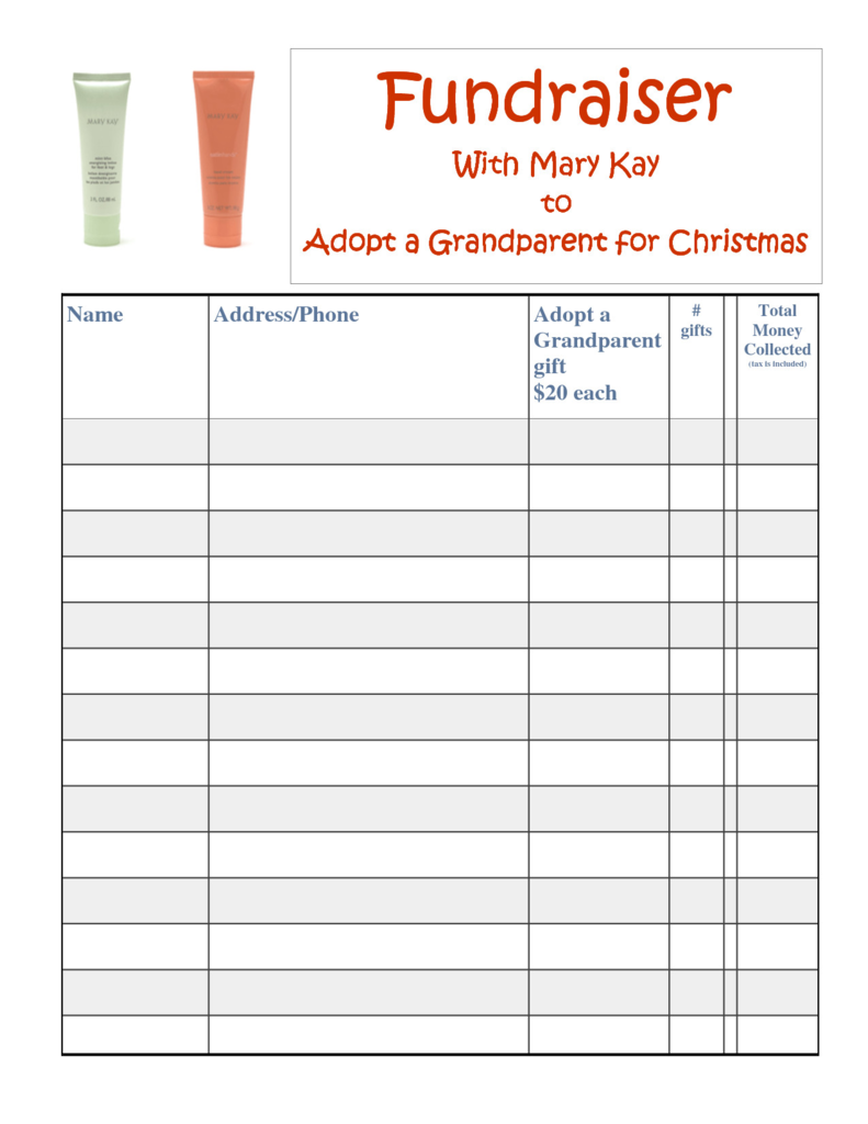 Mary Kay order form Pdf Brilliant Mary Kay Satin Hands Fundraiser