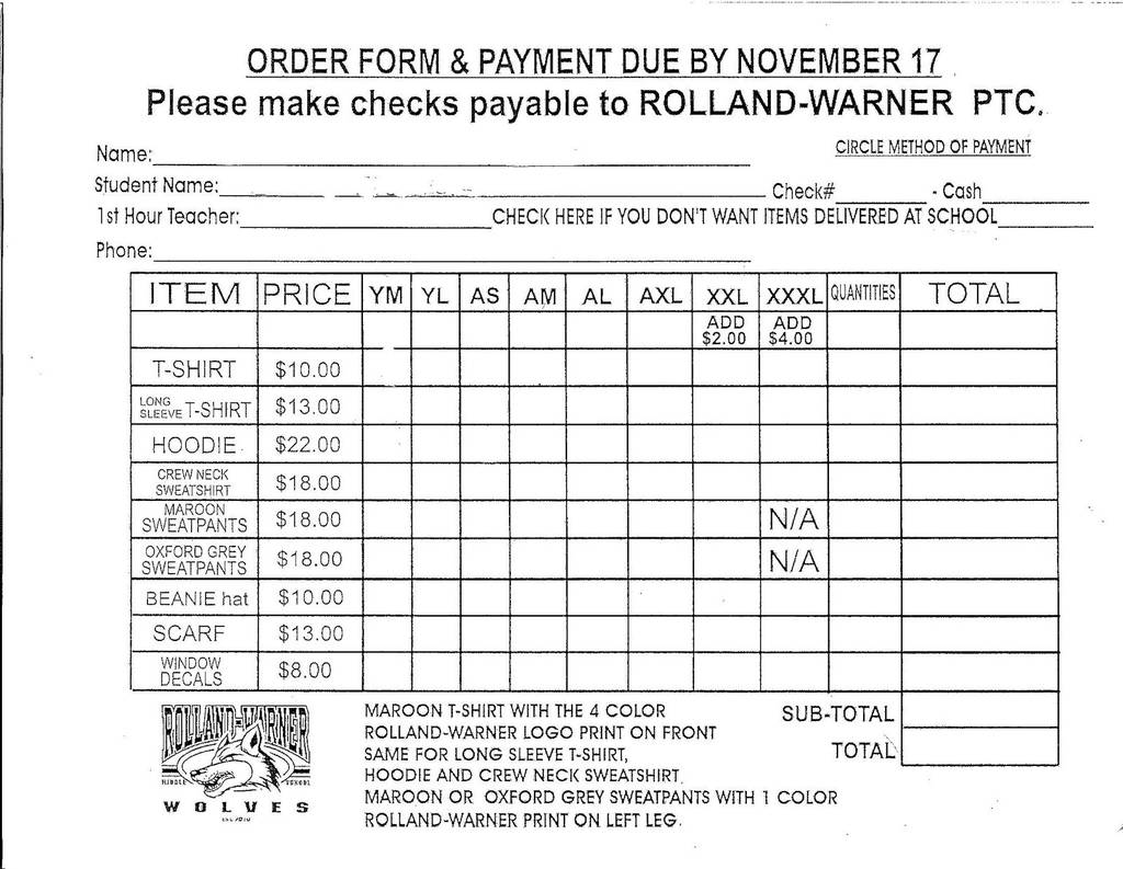 Mary Kay order form Pdf Inspirational Fundraiser order form Template