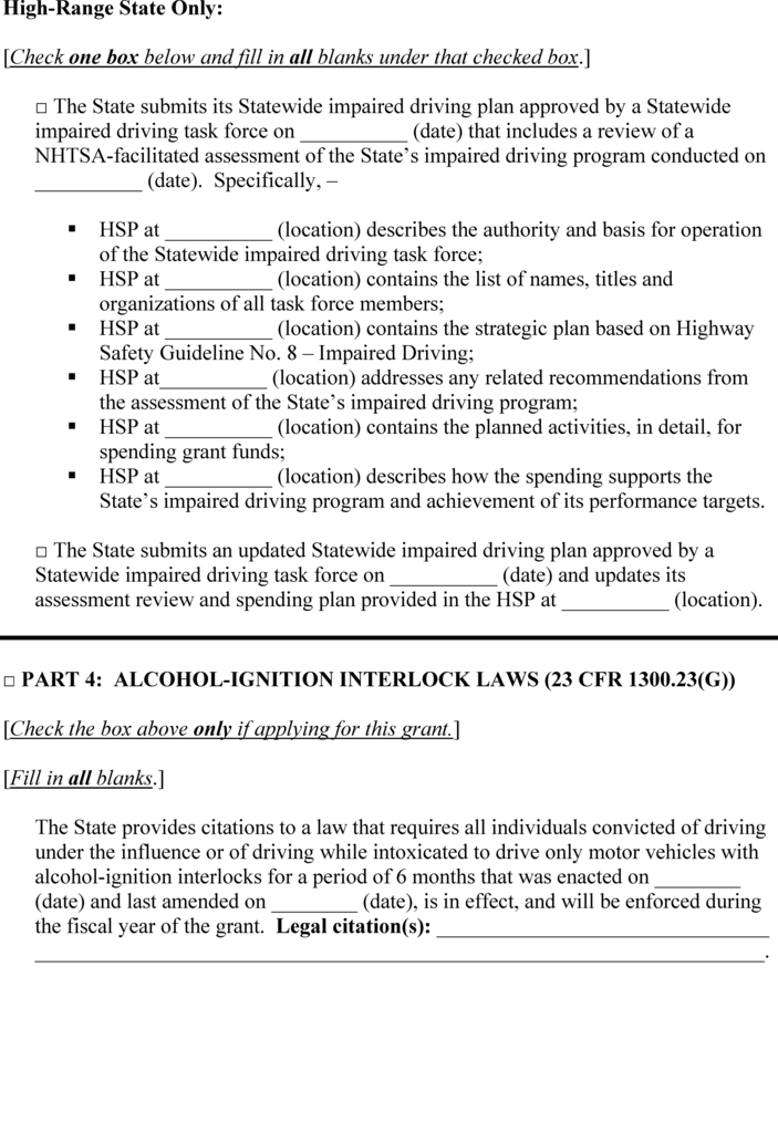 Mn Ignition Interlock forms Beautiful Federal Register Uniform Procedures for State Highway Safety
