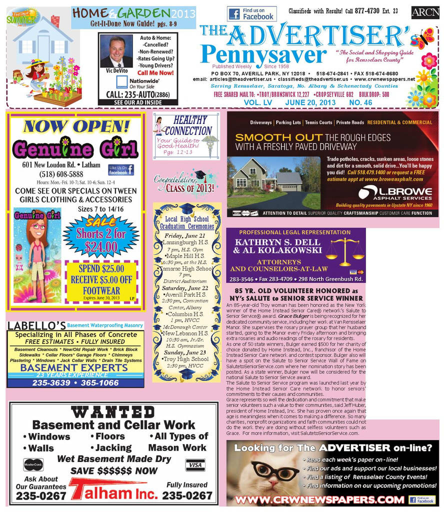 Nassau County Lifeguard Physical form Elegant Advertiser north by Capital Region Weekly Newspapers issuu