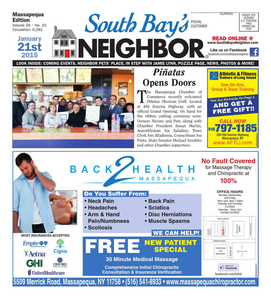 Nassau County Lifeguard Physical form Fresh January 21 2015 Massapequa by south Bay S Neighbor Newspapers issuu