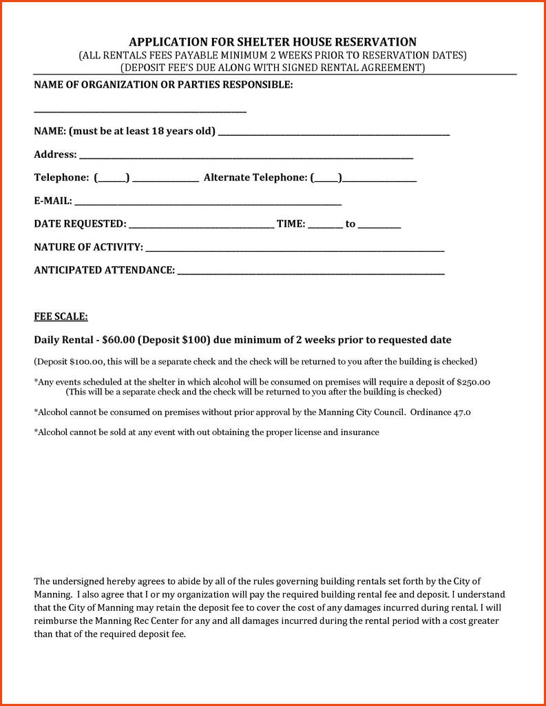 Oregon Commercial Lease Agreement forms Awesome Rental Application form oregon Awesome Simple Lease Agreement form