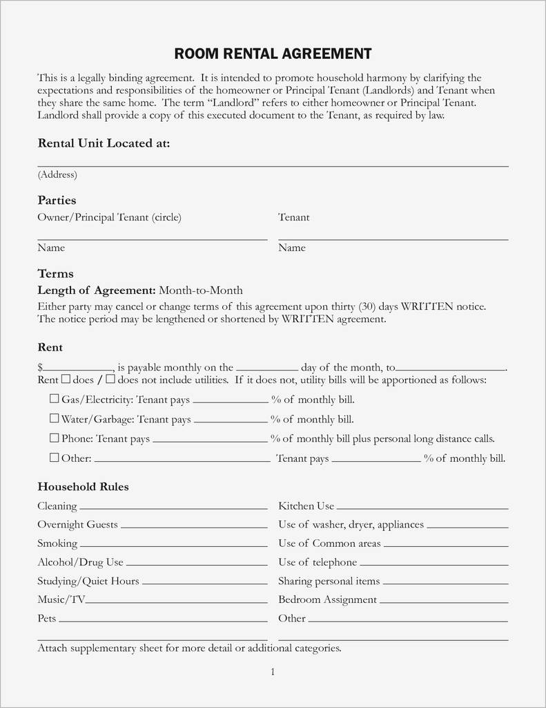 Oregon Commercial Lease Agreement forms Best Of Rental Agreement oregon Pdf format