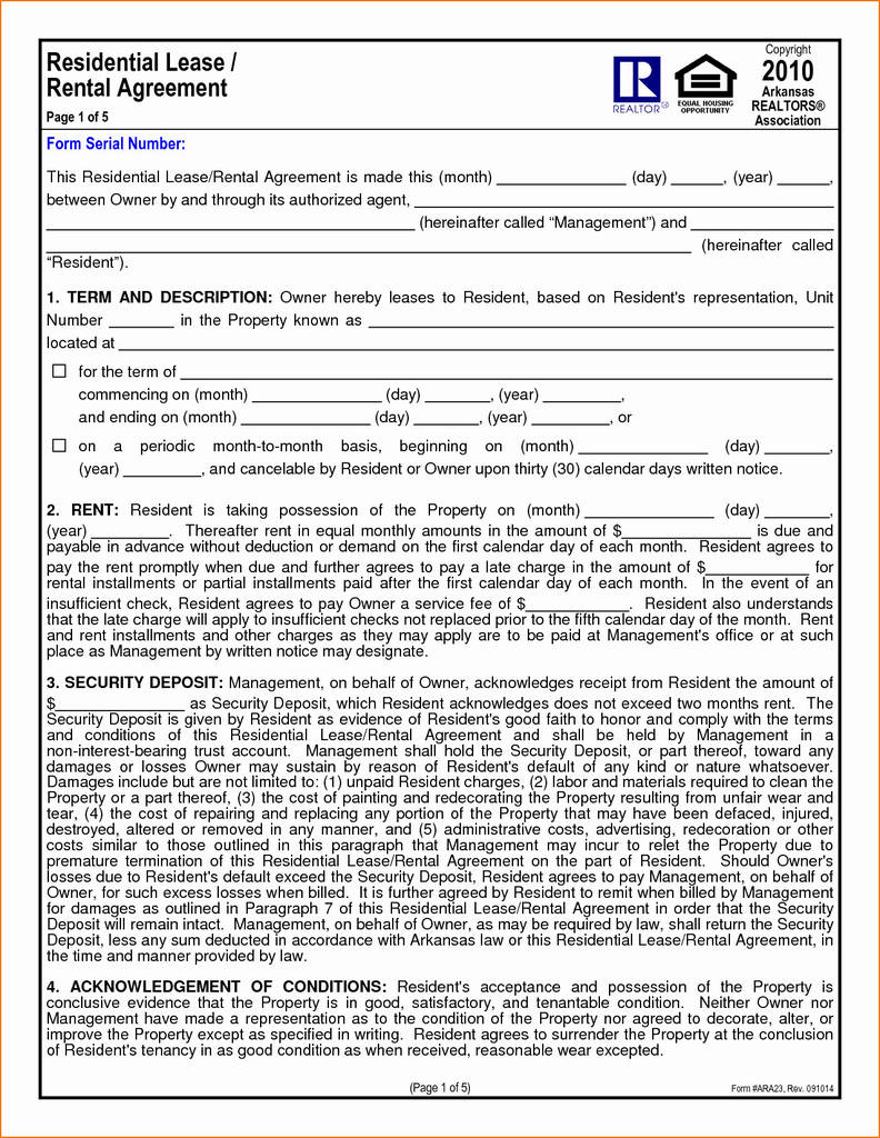 Oregon Rental Housing Association Forms