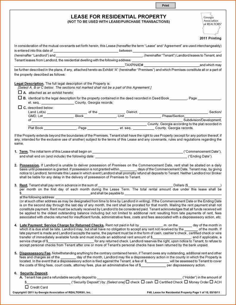 Oregon Commercial Lease Agreement forms Fresh 49 Elegant oregon Residential Lease Agreement
