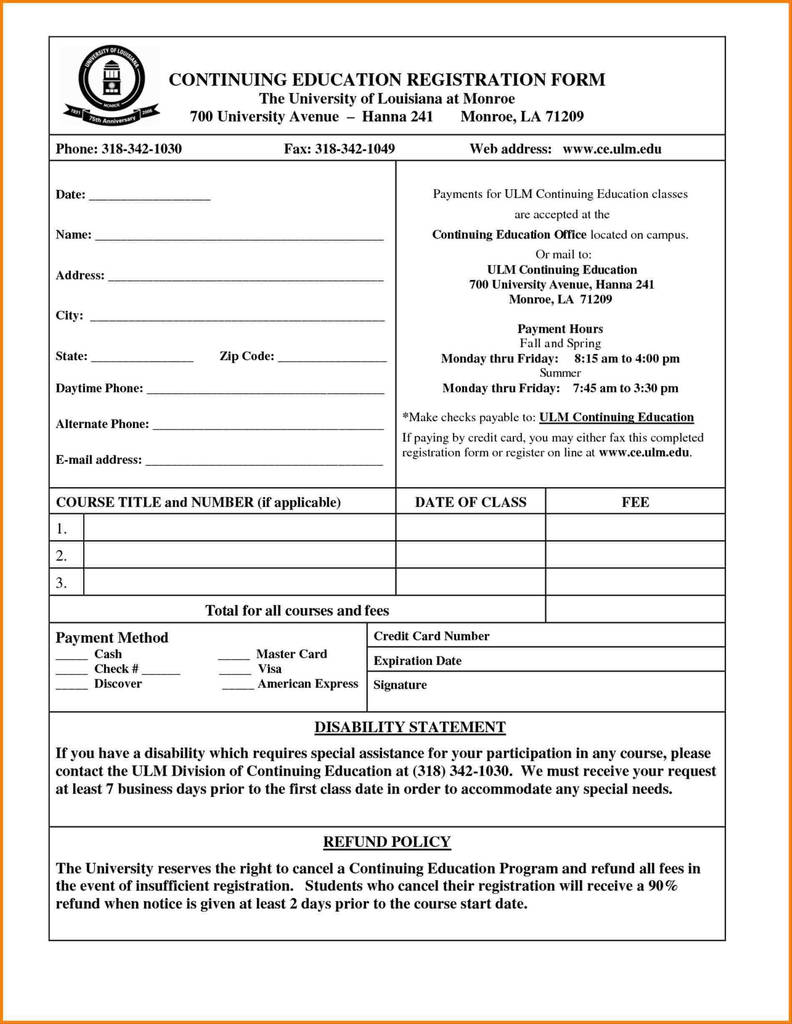 New Patient Registration Form Template from www.flaminke.com