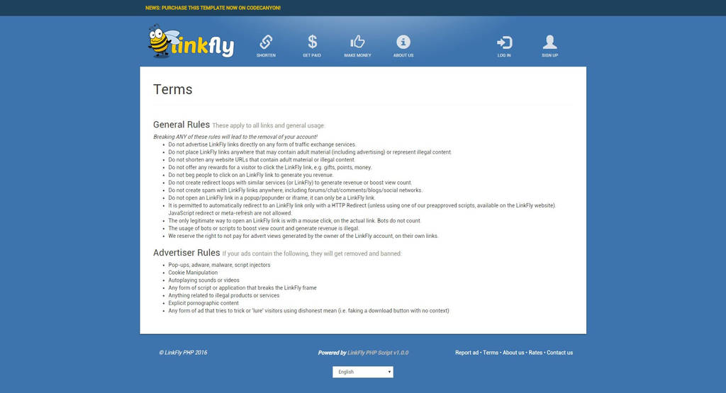 Php form Spam Prevention New Linkfly Adfly Clone Url Shortener PHP Script Miscellaneous PHP