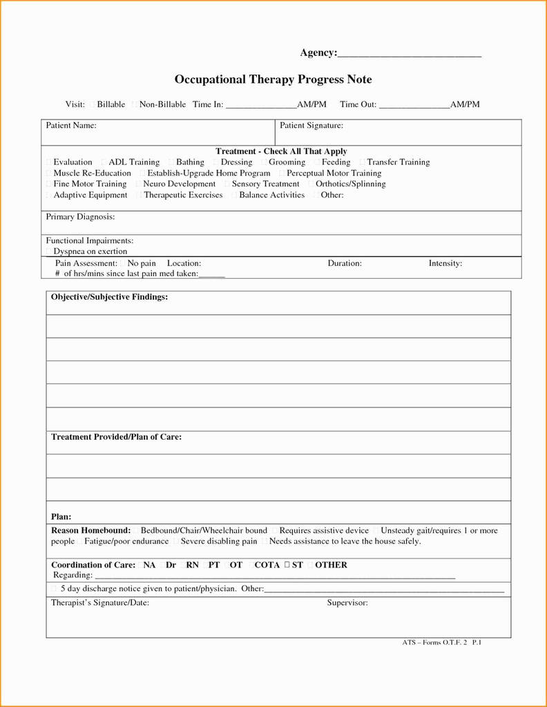 Physical therapy Subjective Evaluation form Best Of Psychotherapy Notes Template Inspirational 20 Lovely Psychotherapy