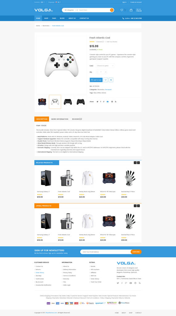 Shopify Custom Contact form Beautiful Volga Megashop Responsive Shopify theme Technology Electronics