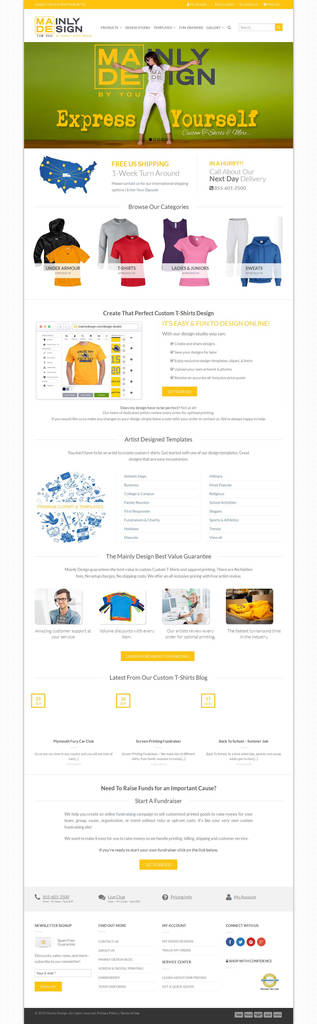 Shopify Custom Contact form Elegant Our Portfolio – Fshore Website Development and Marketing solutions