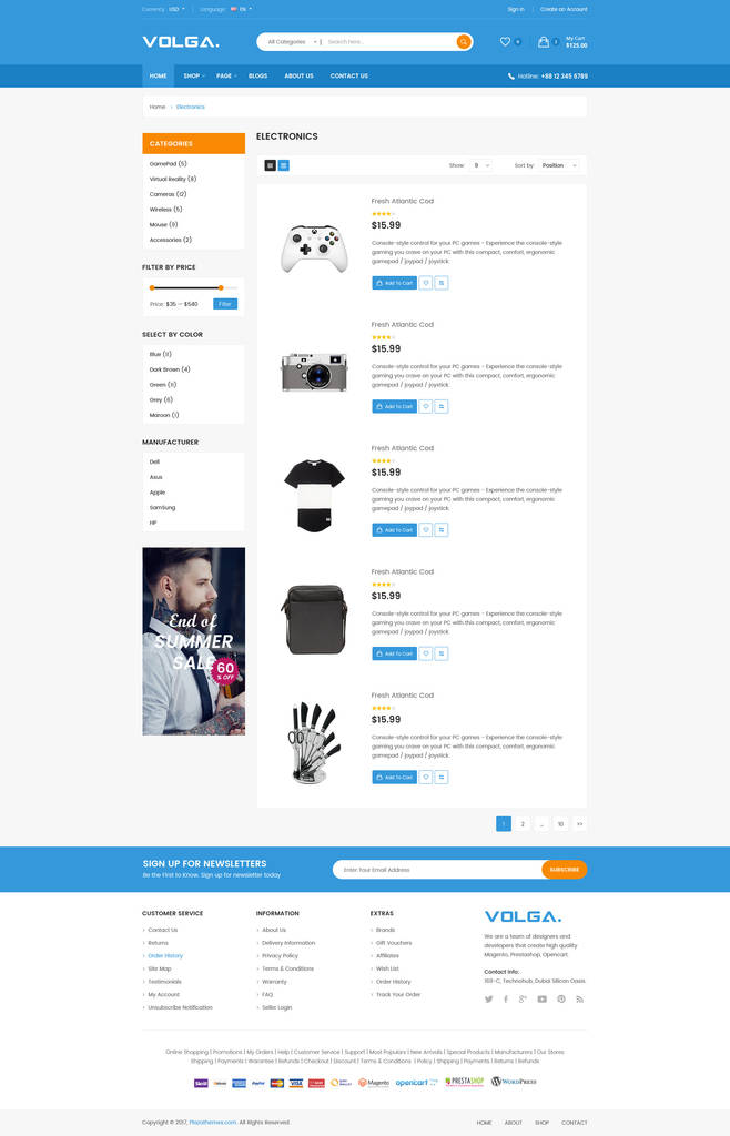 Shopify Custom Contact form Lovely Volga Megashop Responsive Shopify theme Technology Electronics