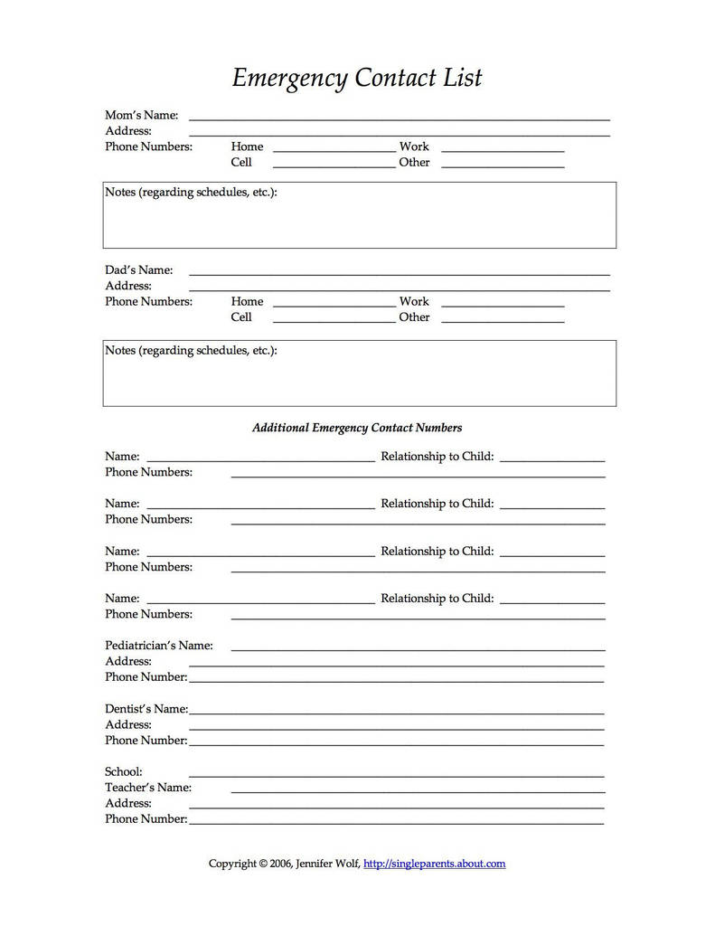South Carolina Child Custody forms Beautiful Free Printable forms for Single Parents