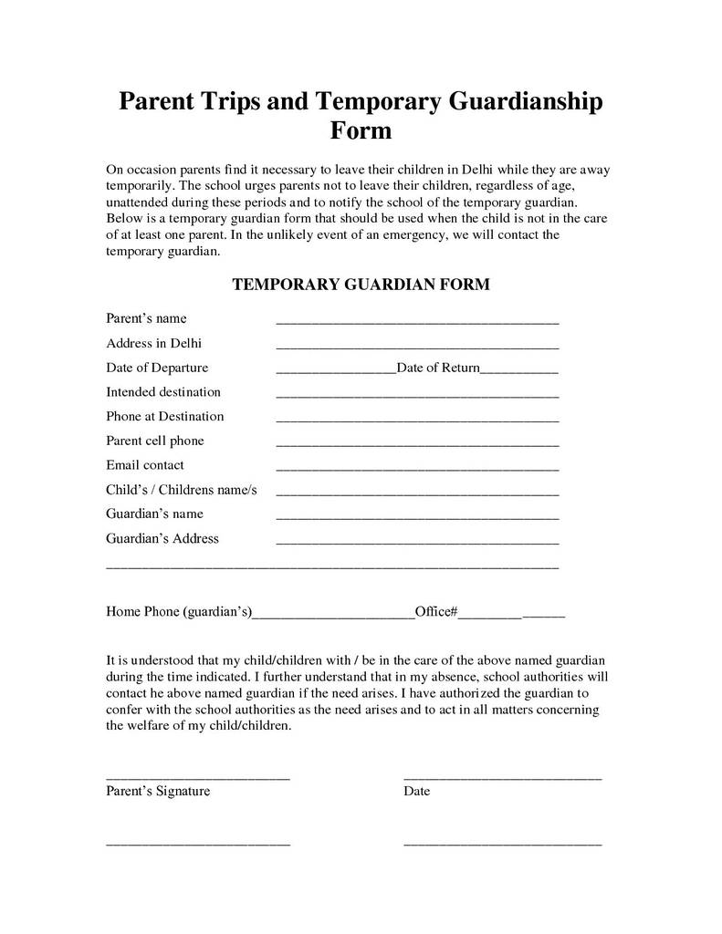 South Carolina Child Custody forms Best Of Free Guardianship Letter Template Collection