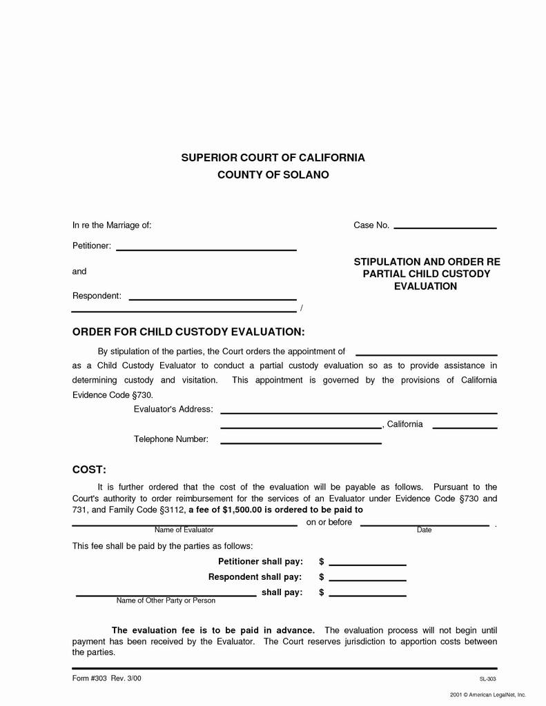 South Carolina Child Custody forms New Child Support Agreement Contract Fresh 50 New Sample Child Support