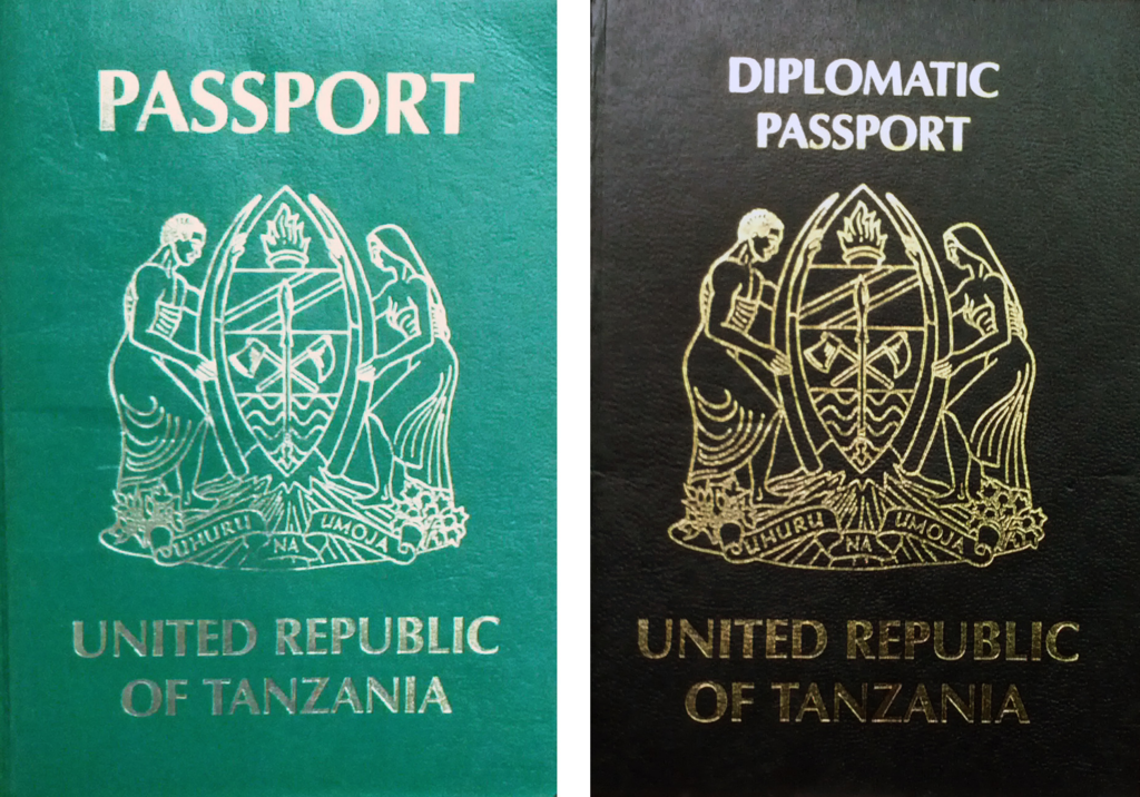 Tanzania Visa Application form Inspirational Passport