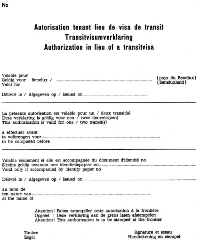 Tanzania Visa Application form Lovely Eur Lex X1216 03 En Eur Lex