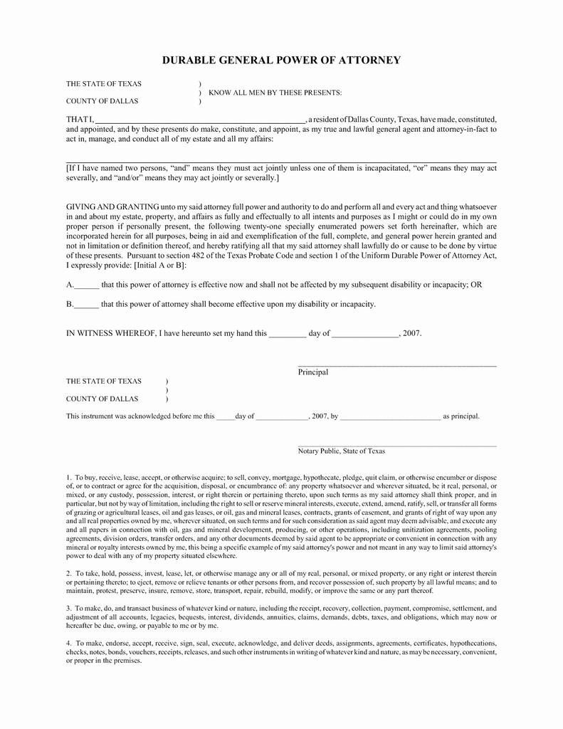 Texas Release Of Deed Of Trust form Unique 50 Luxury Power attorney form Texas Medical Documents Ideas