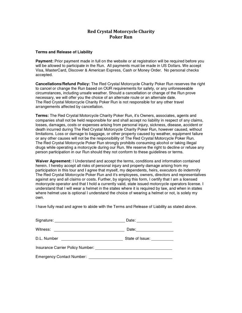 Texas Release Of Deed Of Trust form Unique Release Liability form Texas New Liability Waiver Template