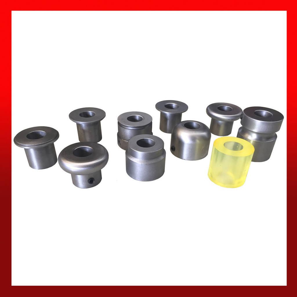 Tube End forming Dies Best Of Wns Bead Roller Roll Die Set 9 Steel Dies & 1 Polyurethane Roll for