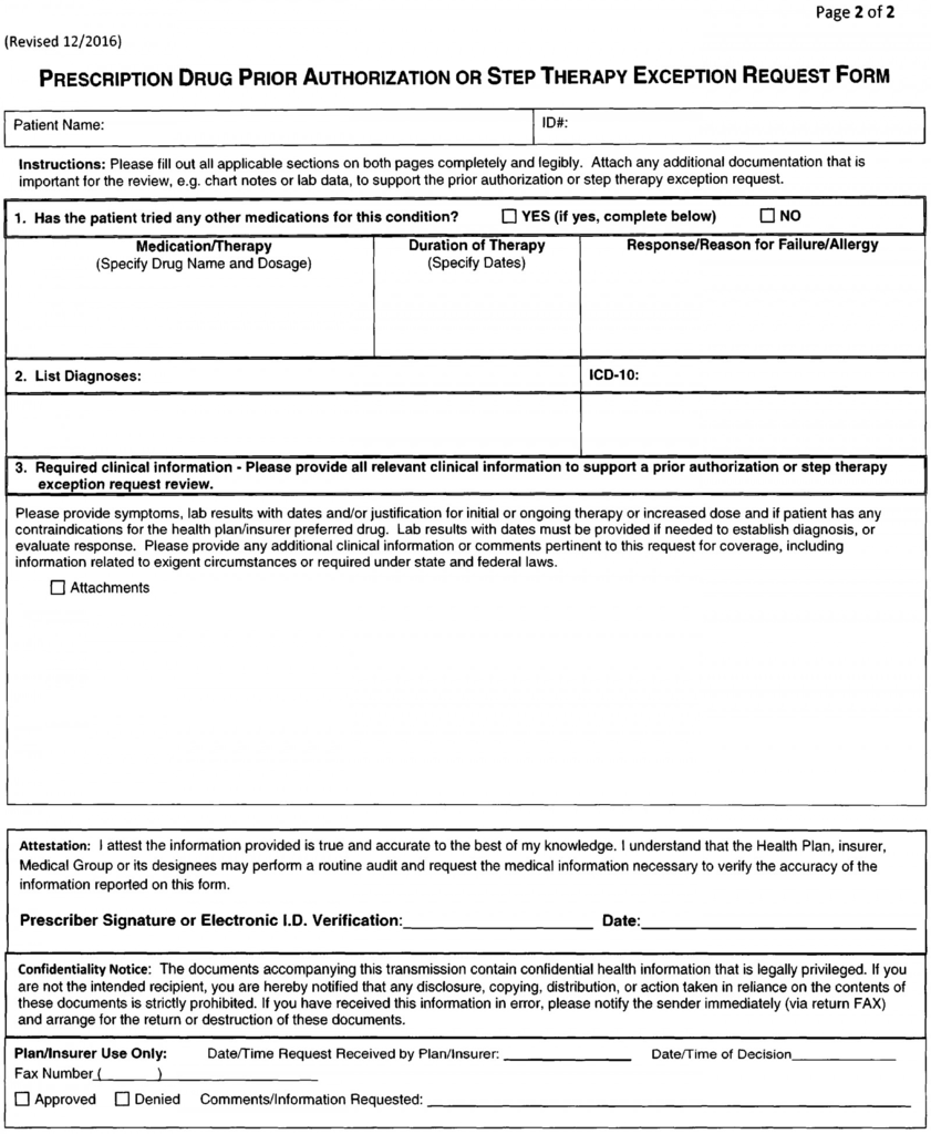 Upmc Prior Auth Form Brilliant View Document California Code