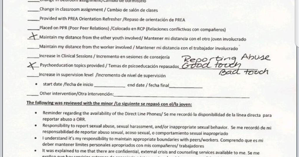 Us Customs Declaration form 2018 Elegant Report Migrant Child Ually Abused at southwest Key Shelter In