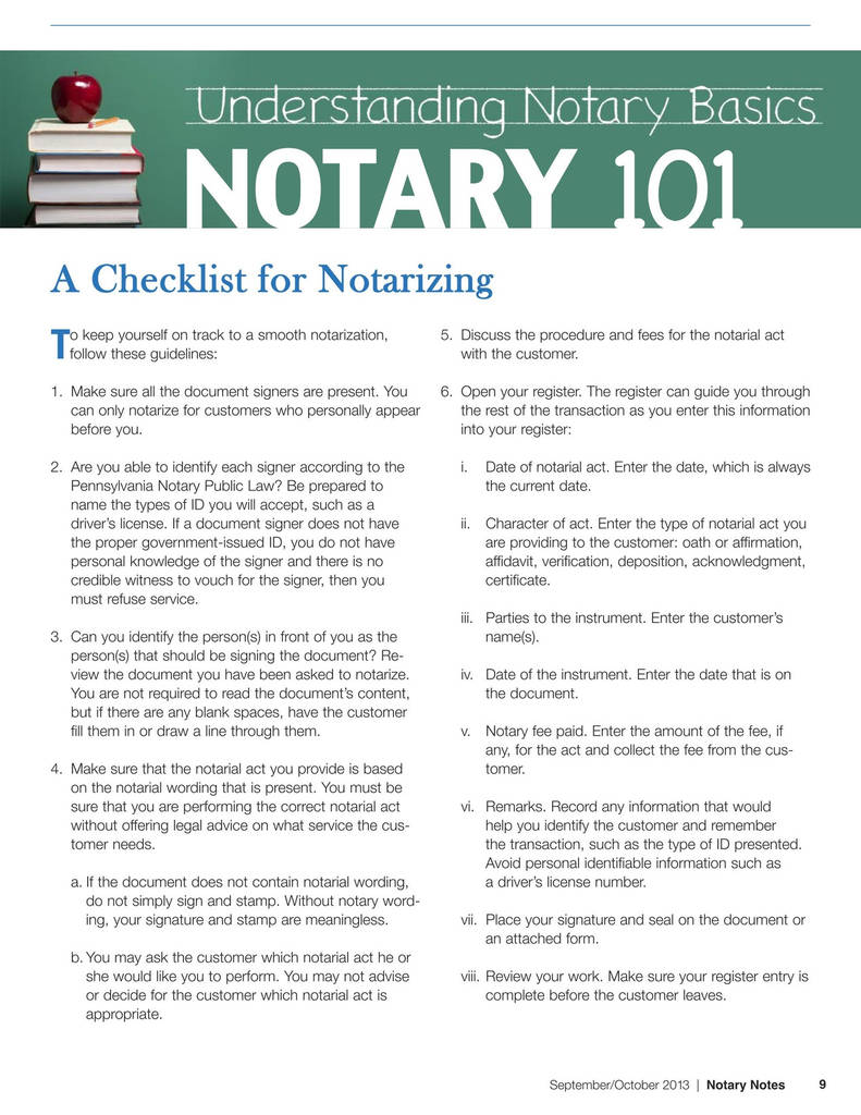 Virginia Notary Acknowledgement form Awesome Notary Notes November December 2013