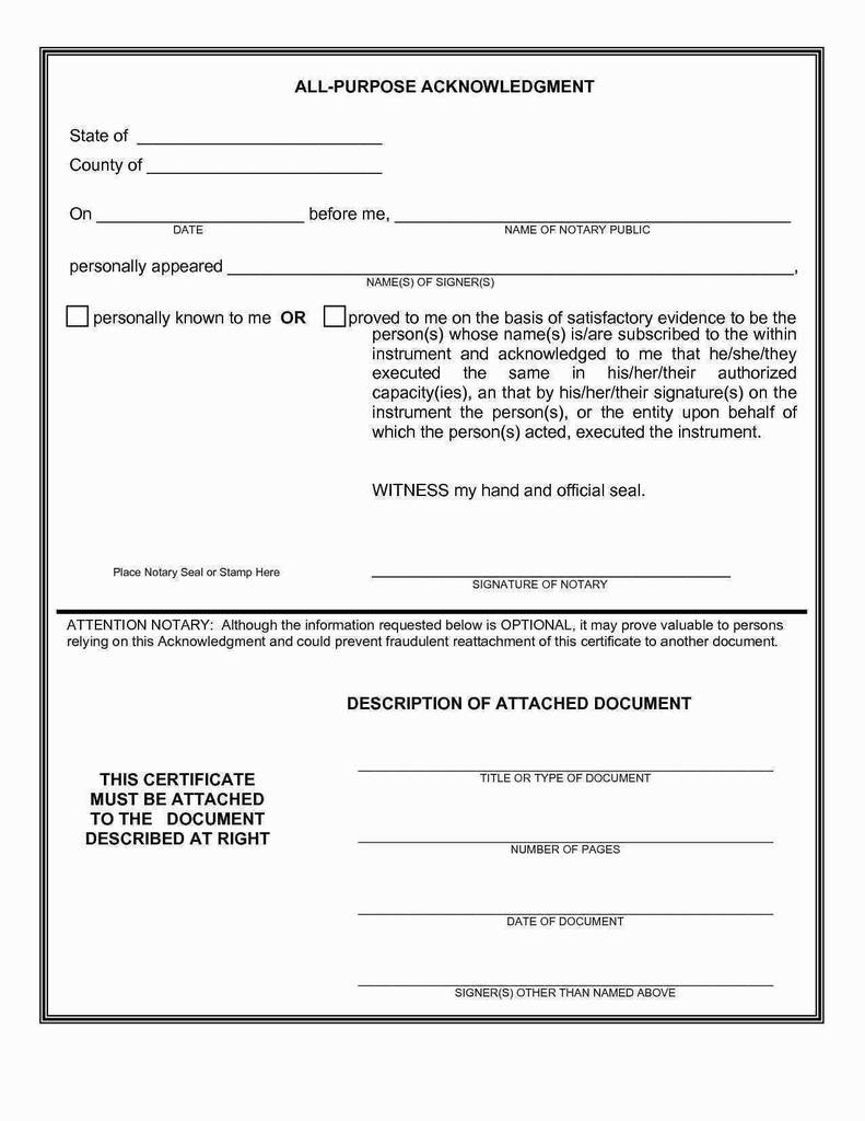 Virginia Notary Acknowledgement form Brilliant Notary Signature Template Awesome Notarized Letter Sample Texas