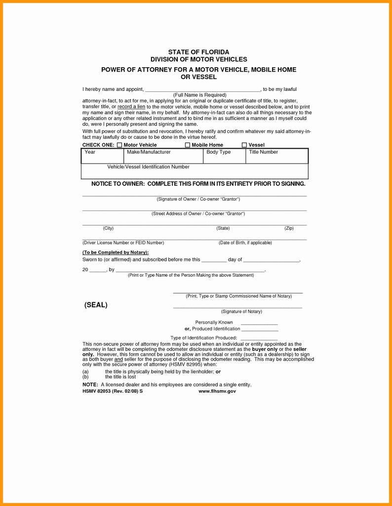 Virginia Notary Acknowledgement form Inspirational Mississippi Power attorney Elegant Free Power attorney form