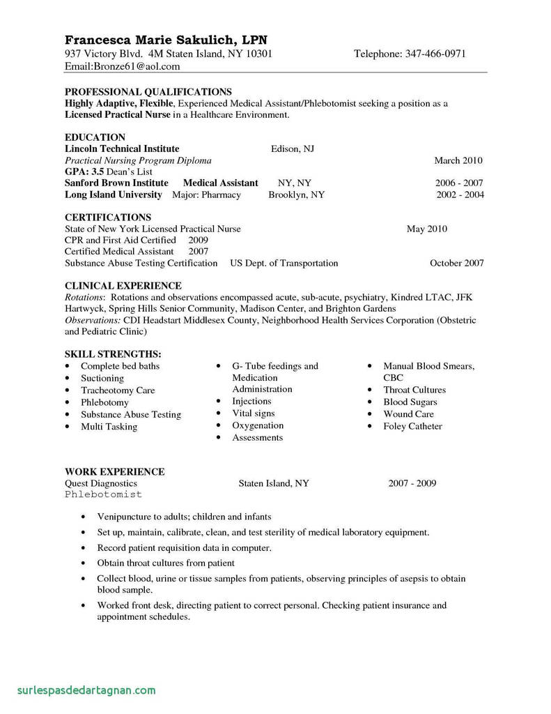 W9 form New York Lovely Graduate Nurse Resume Inspirational New Graduate Nurse Resume