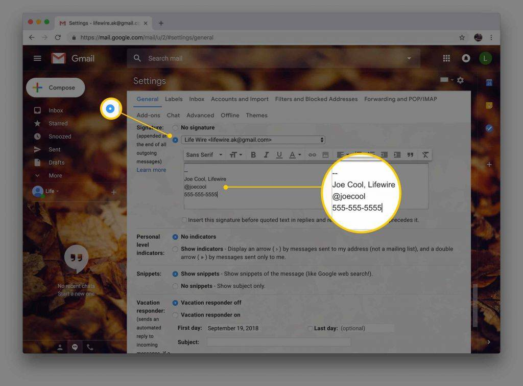 Use Google forms Offline Ipad Awesome How to Add A Signature In Gmail